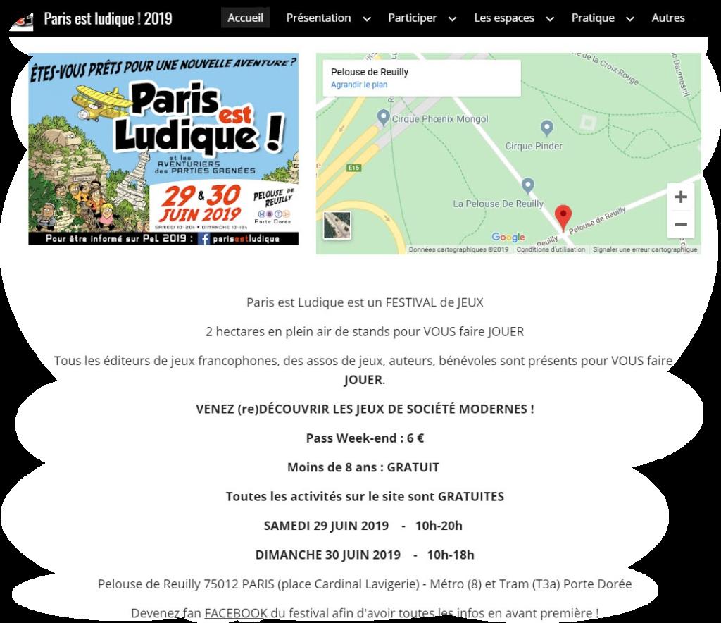 Site Web 2019